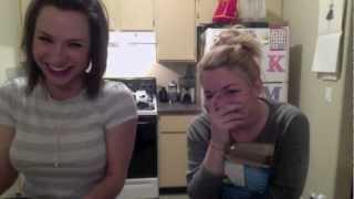 Kasie & Mallory In The Kitchen!! Wine & Bowtie Pasta!