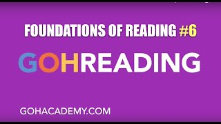 GOHREADING ~ #6 Foundations of Reading 090 MTEL Practice Test ~ GOHACADEMY.COM