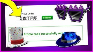 NEW PROMO CODE FOR THE SUPER CREEPY SHADES [ROBLOX]