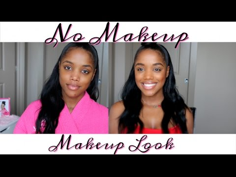 Quick Natural No Makeup Makeup Everyday Look