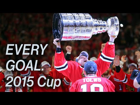 Every 2015 Playoff Goal by the Chicago Blackhawks