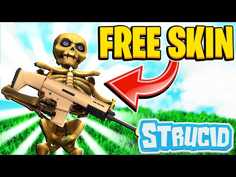 HOW TO GET THE NEW **FREE** SKELETON SKIN IN STRUCID | Roblox