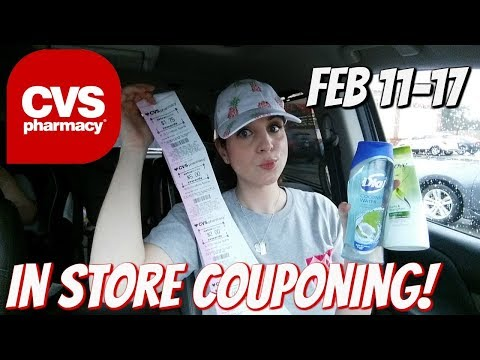 CVS IN STORE COUPONING 2/11/18-2/17/18!  MONEYMAKERS GALORE/HOT DEALS!