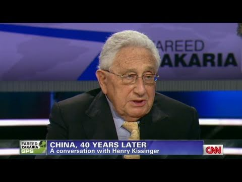 CNN Official Interview: Henry Kissinger talks China challenge