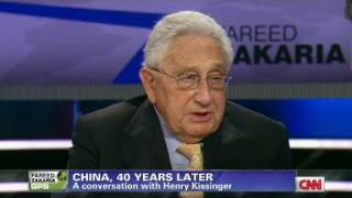 CNN Official Interview: Henry Kissinger talks China challenge