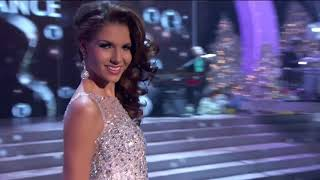 EVENING GOWN: 2012 MISS UNIVERSE