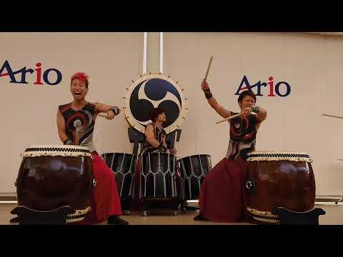 和太鼓グループ彩 Japanese Drum Group SAI「大雷山」 1-1 2017年9月24日 アリオ市原