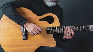 Acoustic Baritone Guitar   Surprised by Joy