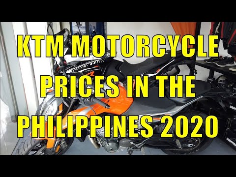 KTM Motorcycle Prices In The Philippines 2020.