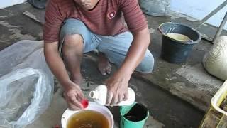 2  Pembuatan Batang Pisang Fermentasi