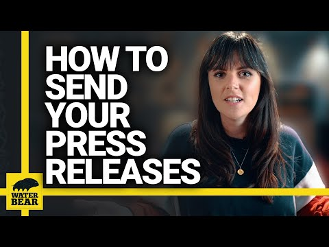 HOW TO SEND OUT YOUR BAND'S PRESS RELEASE