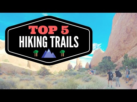Top 5 Favorite Hiking Trails 💯👍👟 Best Hikes & Backpacking in America | Full Time RV Living 🚐💨