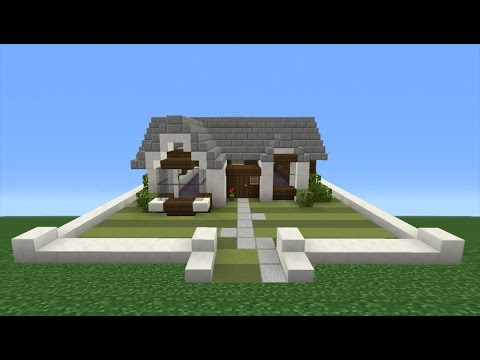 Minecraft Tutorial: How To Make A Small Simple Suburban ...