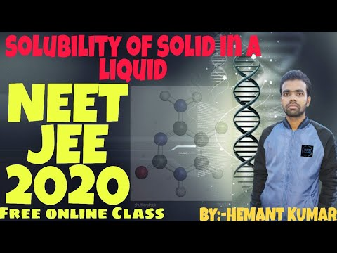 ||Solutions Solubility And Its Types|| ||factor Effecting On Solubility  Of Solid  In A Liquid||