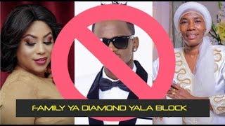 Kimenuka: Zari Awapiga Block Familia Nzima Ya Diamond Chanzo ni mama diamond Kumkaribisha Tanasha