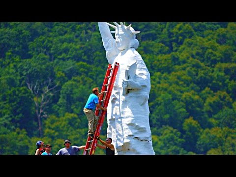 Statue Of Liberty in Dauphin, Pennsylvania - A Roadside Attraction