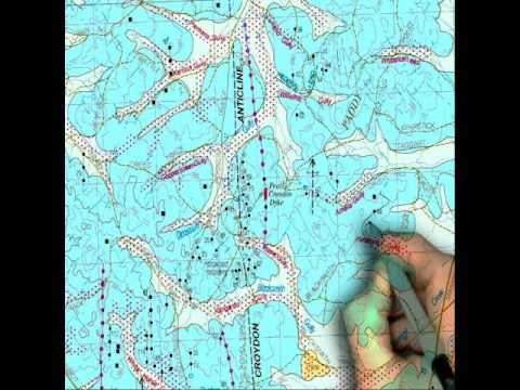 How To Read Geological Gold Maps