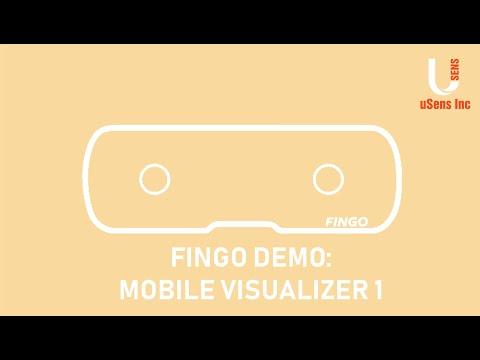 Fingo Demo: Mobile Visualizer 1