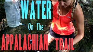 Water on the Appalachian Trail