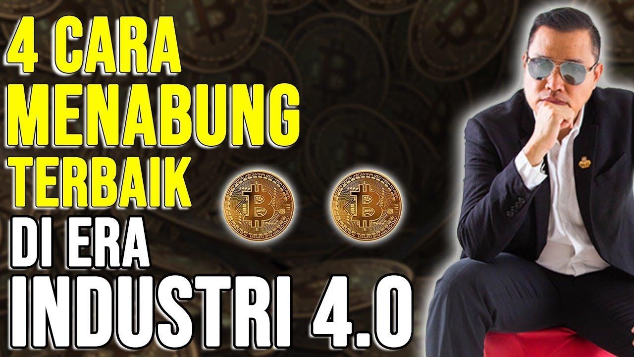 4 Cara Menabung Di Era 4.0, Bitcoin Salah Satu Digital Aset Terbaik