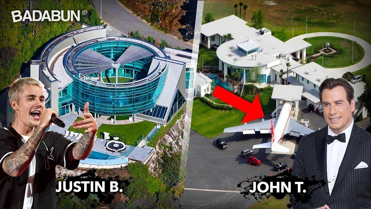 Las 8 mansiones m s impresionantes de los famosos youtube for Las mejores casas de los famosos