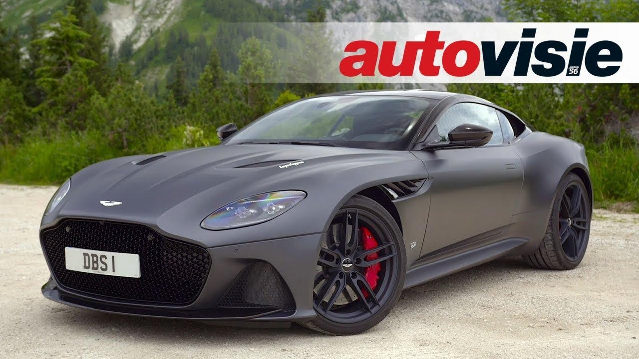 Aston Martin DBS Superleggera Test Autovisie Vlog YouTube - Aston martin db