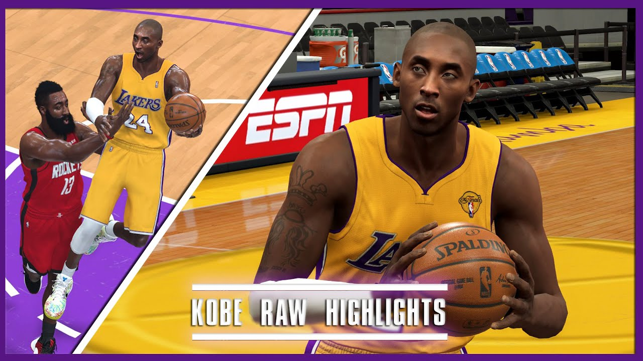 NBA 2K20: Kobe Bryant Raw Playoff Highlights, 430 Points In 10 Games! Mid-Range GOD (Rounds 2 & 3)