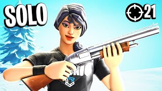 Insane 21 Kill Solo Win on Controller (facecam)