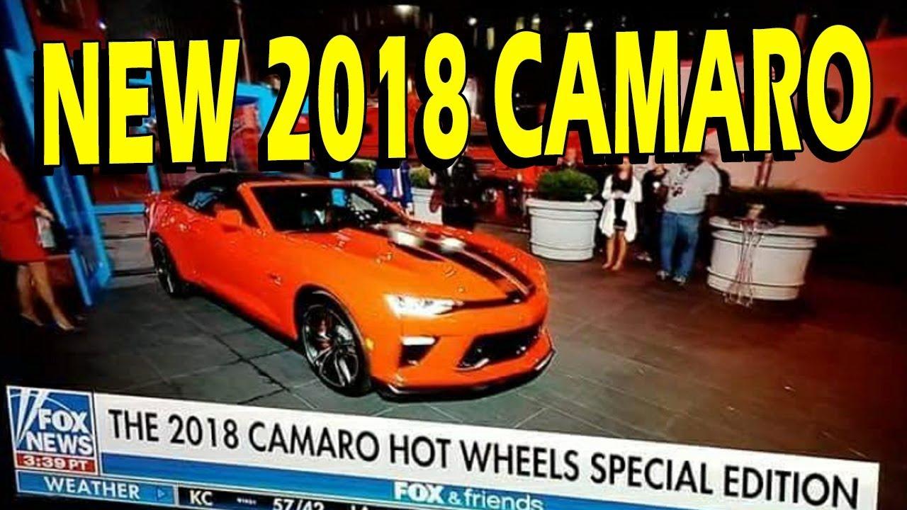 2018 Camaro Hot Wheels Edition Revealed Youtube