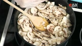 """Суп-крем из свежих грибов - Рецепт (ТВ """"Еда"""")"""