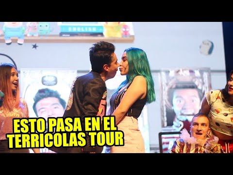 SHOW DE TERRÍCOLAS TOUR EN TU PAIS - AMI RODRIGUEZ Y SOFIA CASTRO