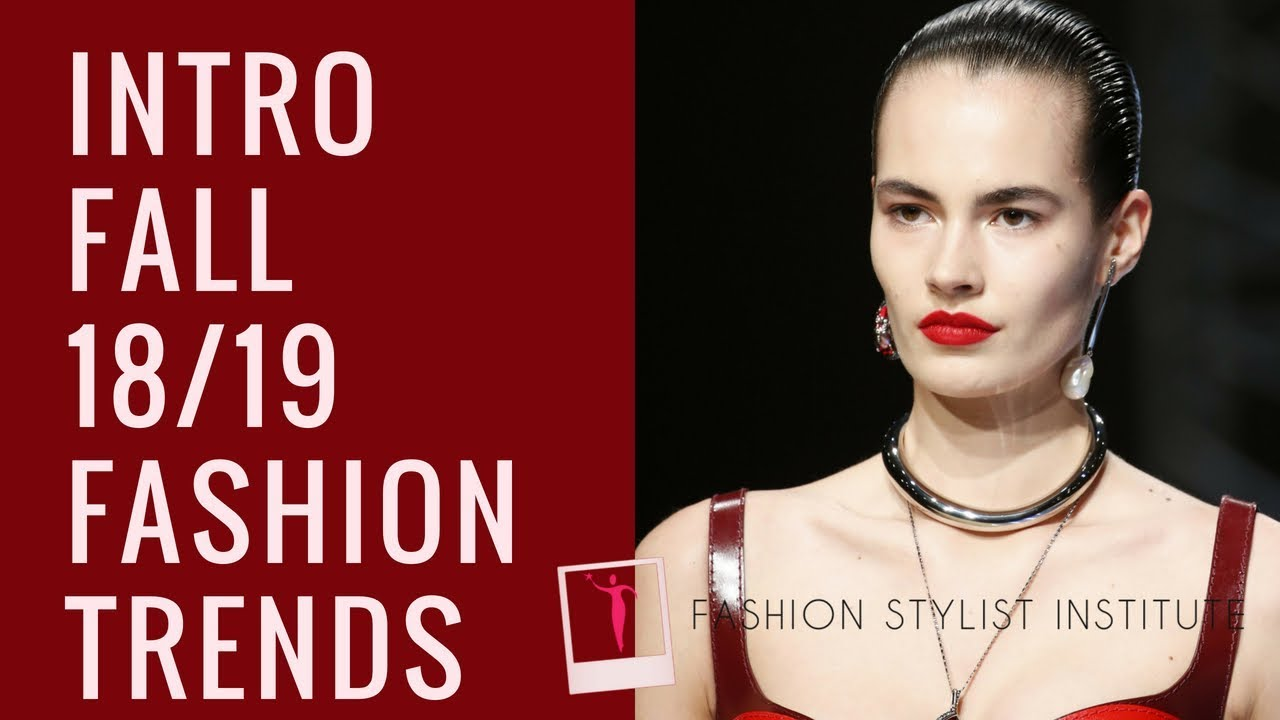 Fall Winter  Fashion Color Trends