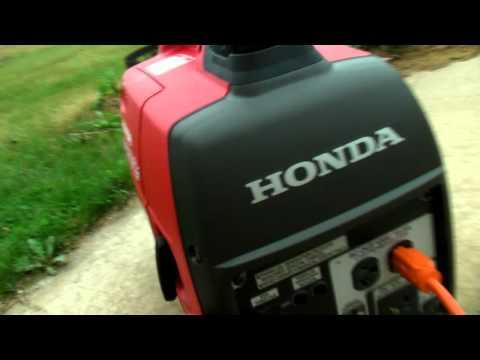 Honda EU2000i Gas Generator VS Harbor Freight Tools Generator