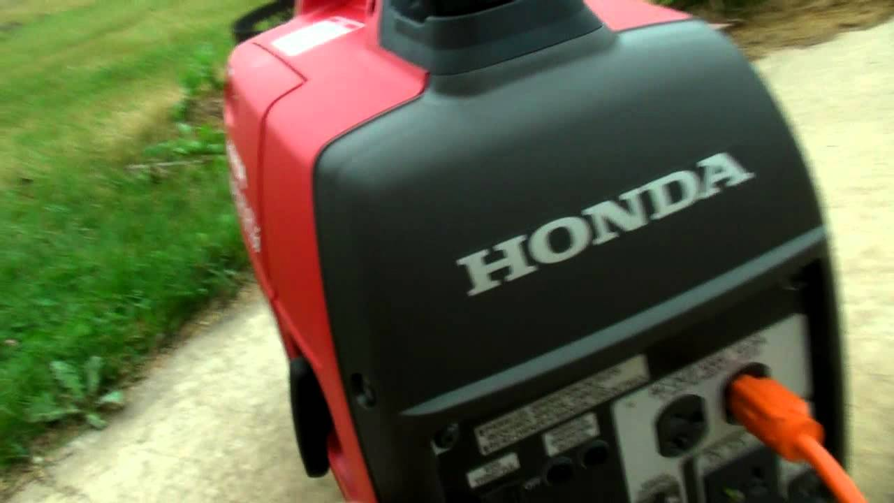Honda eu2000i gas generator vs harbor freight tools - Is it bad to run a generator out of gas ...