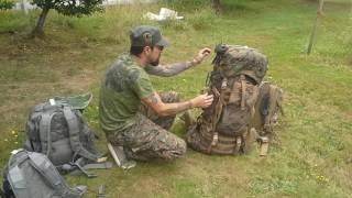 USMC I.L.B.E Long range wilderness kit Part 2 (Main bag)