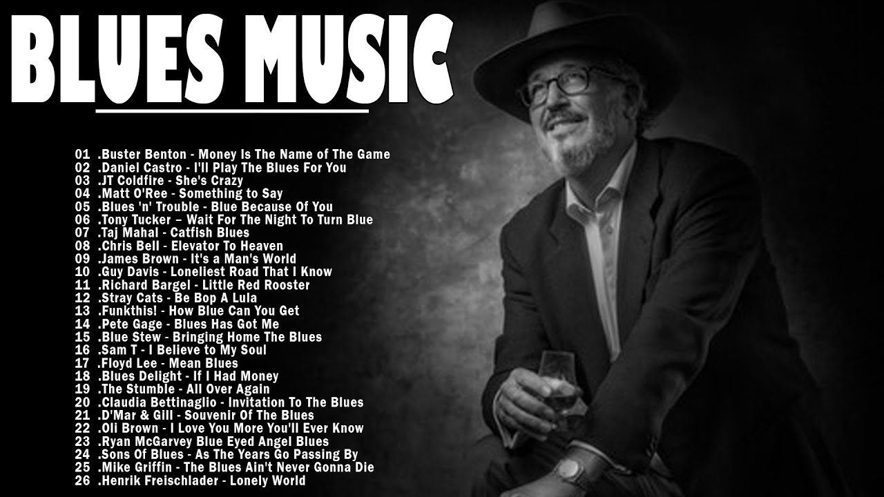 Slow Blues Music | Best Slow Blues Music Of All Time | Slow Blues / Blues Music | Jazz Blues Guitar