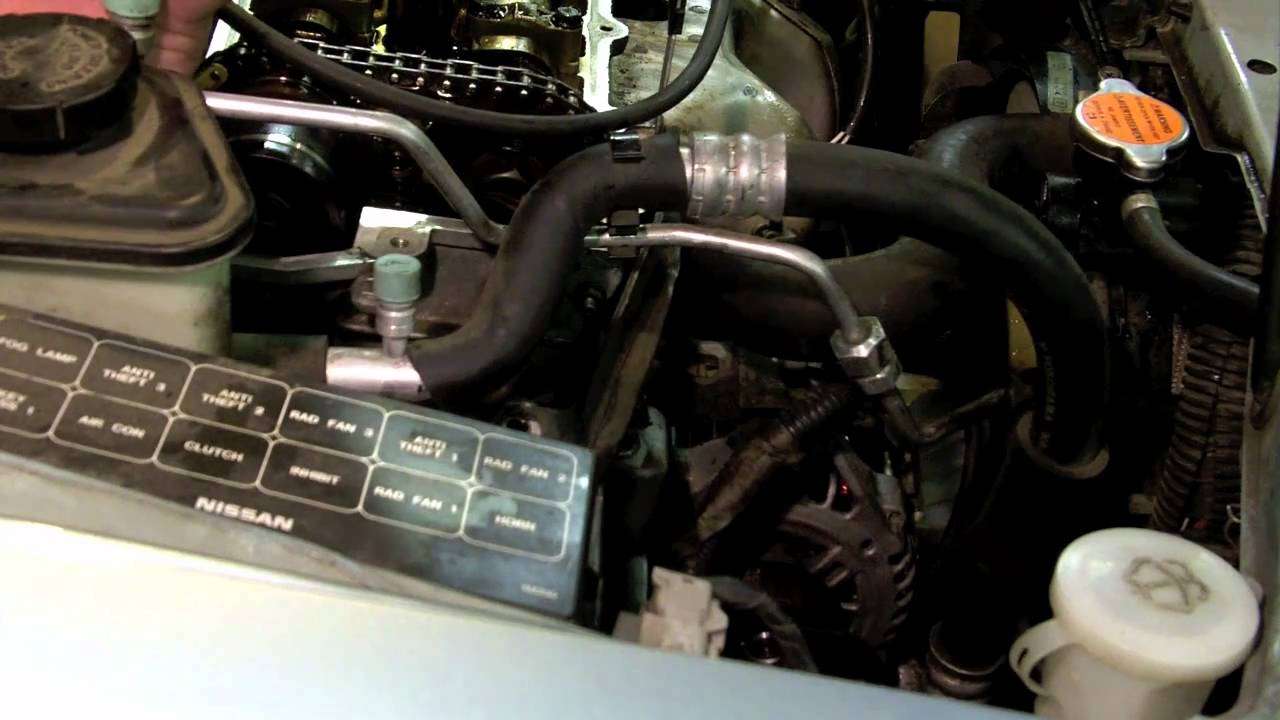Nissan 1.6L Timing Chain Rattle part 2 - YouTube