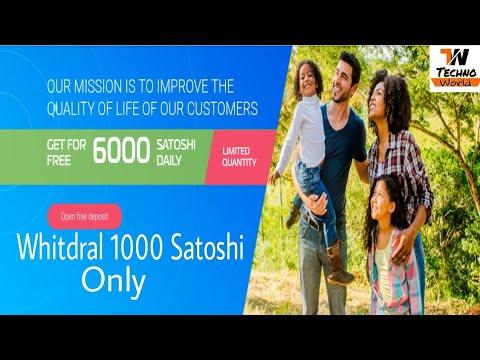 How to Get Free 6000 Satoshi Daily |Techno World |