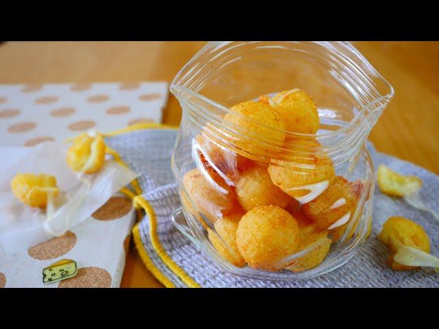 Cute Yatai-style cheese balls ころころかわいい屋台風チーズボール
