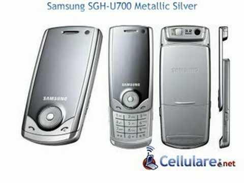 Samsung SGH-U700 Metallic silver