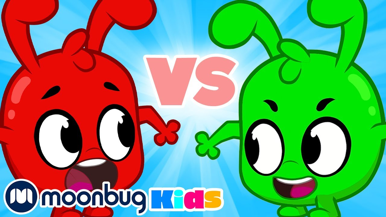Morphle VS Orphle! | My Magic Pet Morphle | Cartoons for Kids | Moonbug Kids