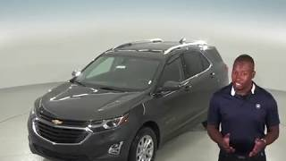 183003 - New, 2018, Chevrolet Equinox, SUV, Gray, Test Drive, Review, For Sale -