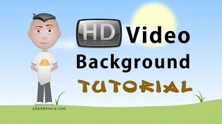 Video Background HTML CSS Tutorial Plus Youtube Embed