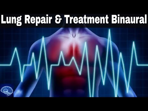 EXTREMELY POWERFUL ! Lung Repair and Treatment with Binaural Beats + Meditation Healing Music