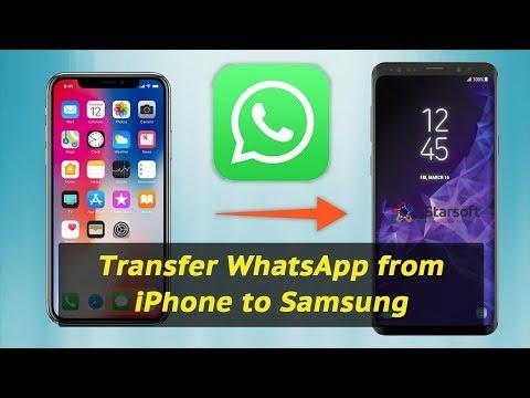 WHATSAPP VON SAMSUNG AUF IPHONE ÜBERTRAGEN
