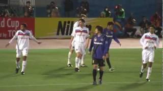 AFCチャンピオンズリーグ2010 G大阪 vs SAF JJプレー集