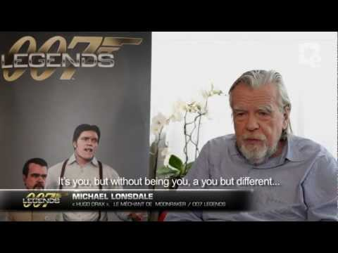 007 Legends: Entrevista con el actor Michael Lonsdale (eng)