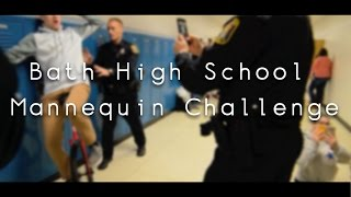 mannequin challenge bath high school
