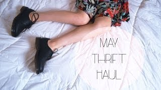 May Thrift Haul Thumbnail