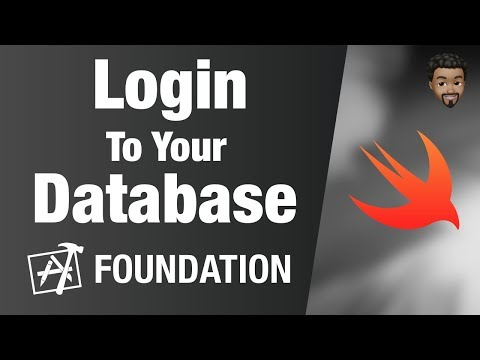 Login To Your Database | Swift 5, Xcode 10